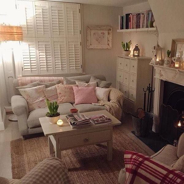 Cosy Looking Little Living Room Shabby Chic Living Room