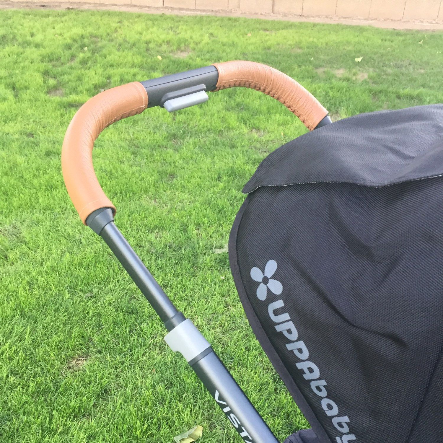 Uppababy Vista leather handle bar covers Etsy in 2020