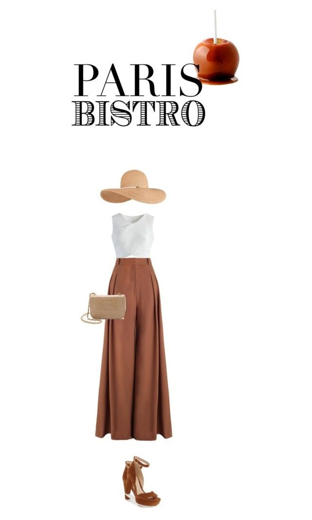 """""""Caramel boho"""" by perlarara ❤ liked on Polyvore featuring Chicwish, Zimmermann, Vince Camuto and Eugenia Kim"""