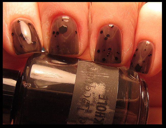 Blackhole Glitter Nail Polish  Full Size by AphroditeLacquers, $8.00
