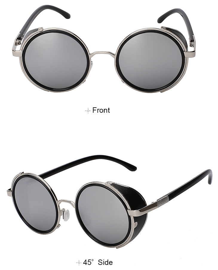 7ed031ae48 Steampunk Sunglasses with Side Shields – Loot Lane
