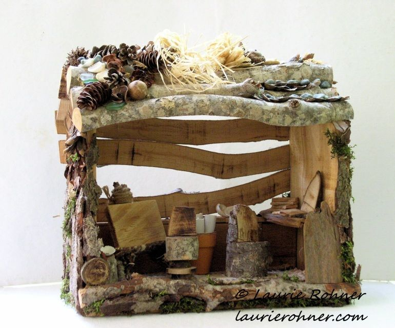 Wonderful Items Similar To Woodland Fairy House Garden Art Studio Custom Whimsical  Hand Sculpted Nature On Etsy