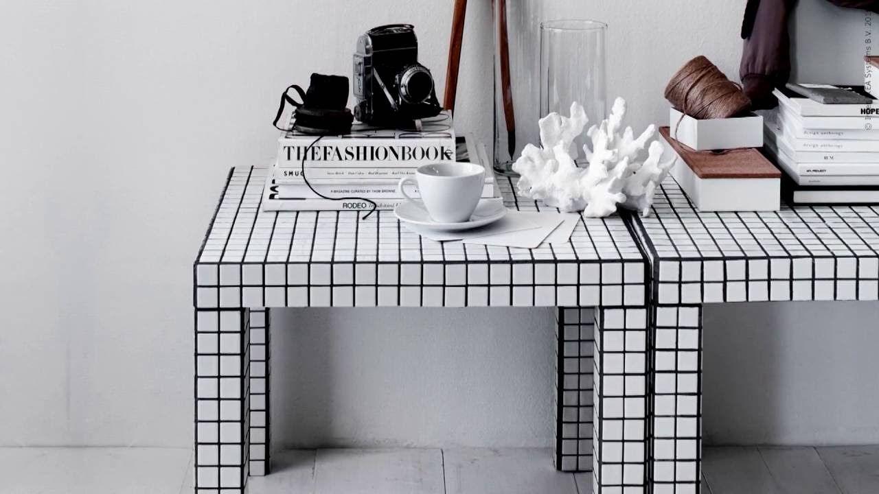 IKEA - DIY LACK + mosaik