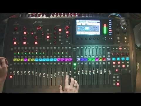 Behringer X32 - Equalizer Section - NRCC - YouTube