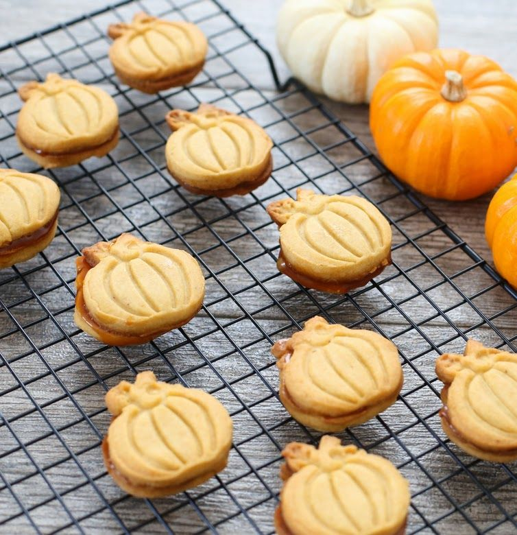 Pumpkin Spice Shortbread Cookies Recipe Pumpkin