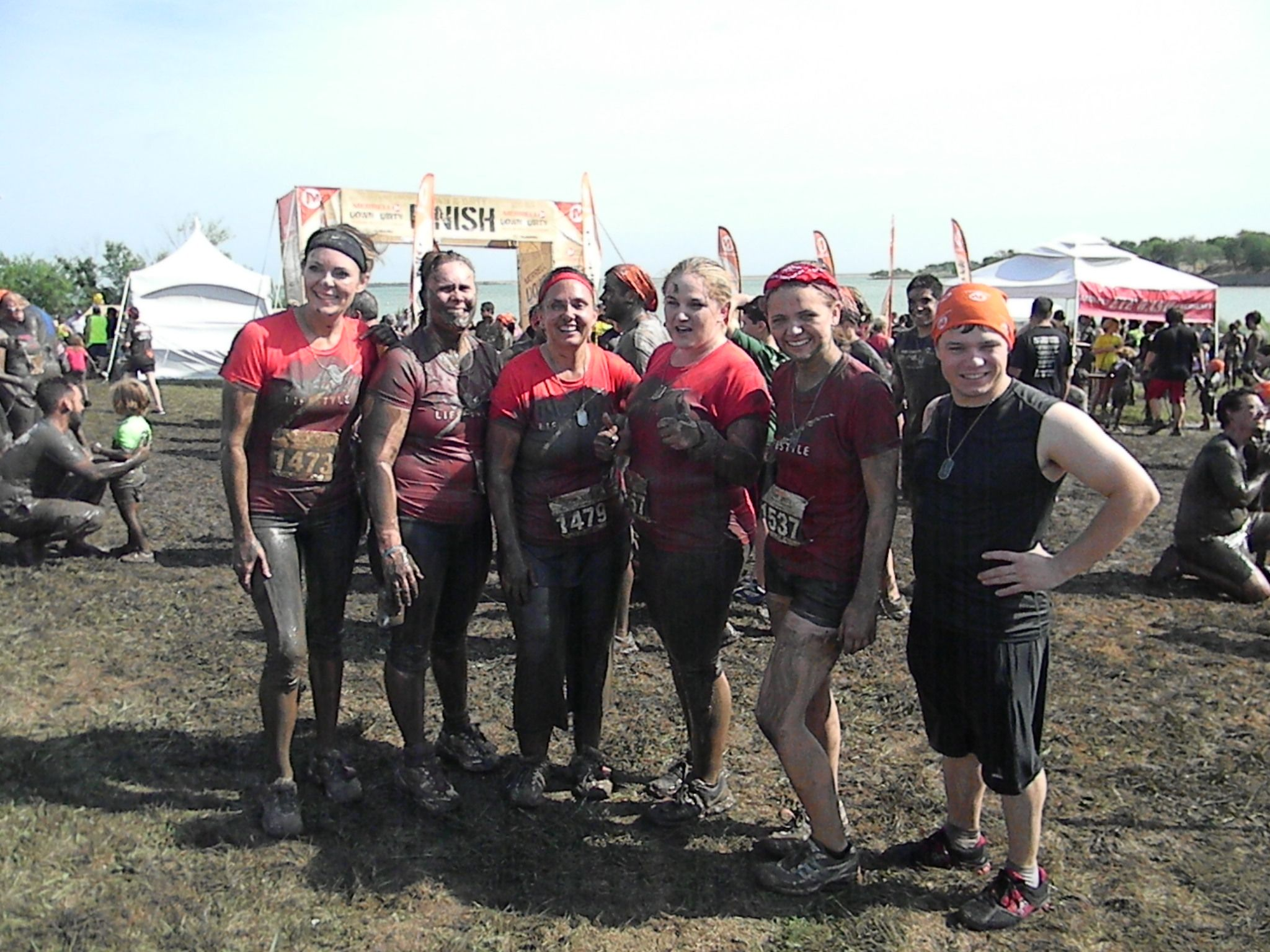 Down and Dirty Mud Run - Team TKD (129)