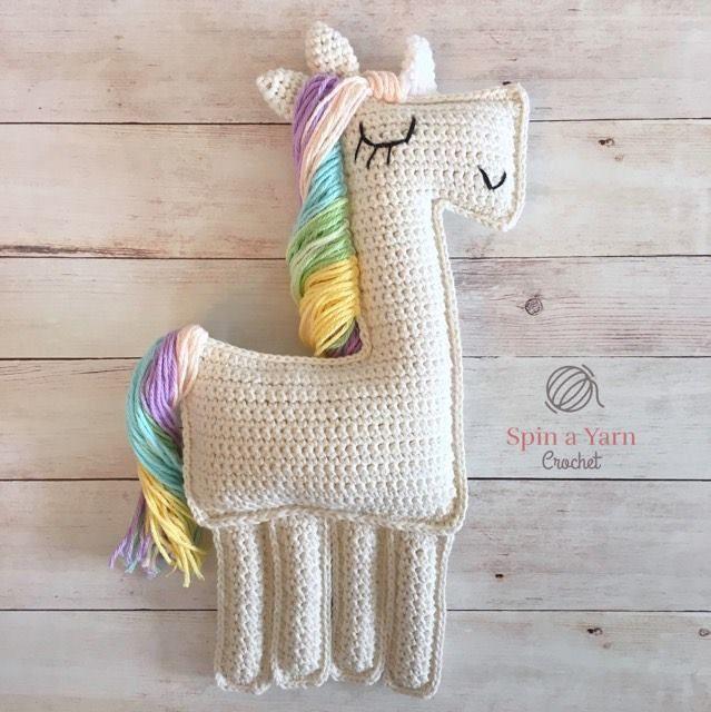 Crochet Unicorn Pattern   UNIC☺️RN,P☺️NY & H☺️RSES   Pinterest ...