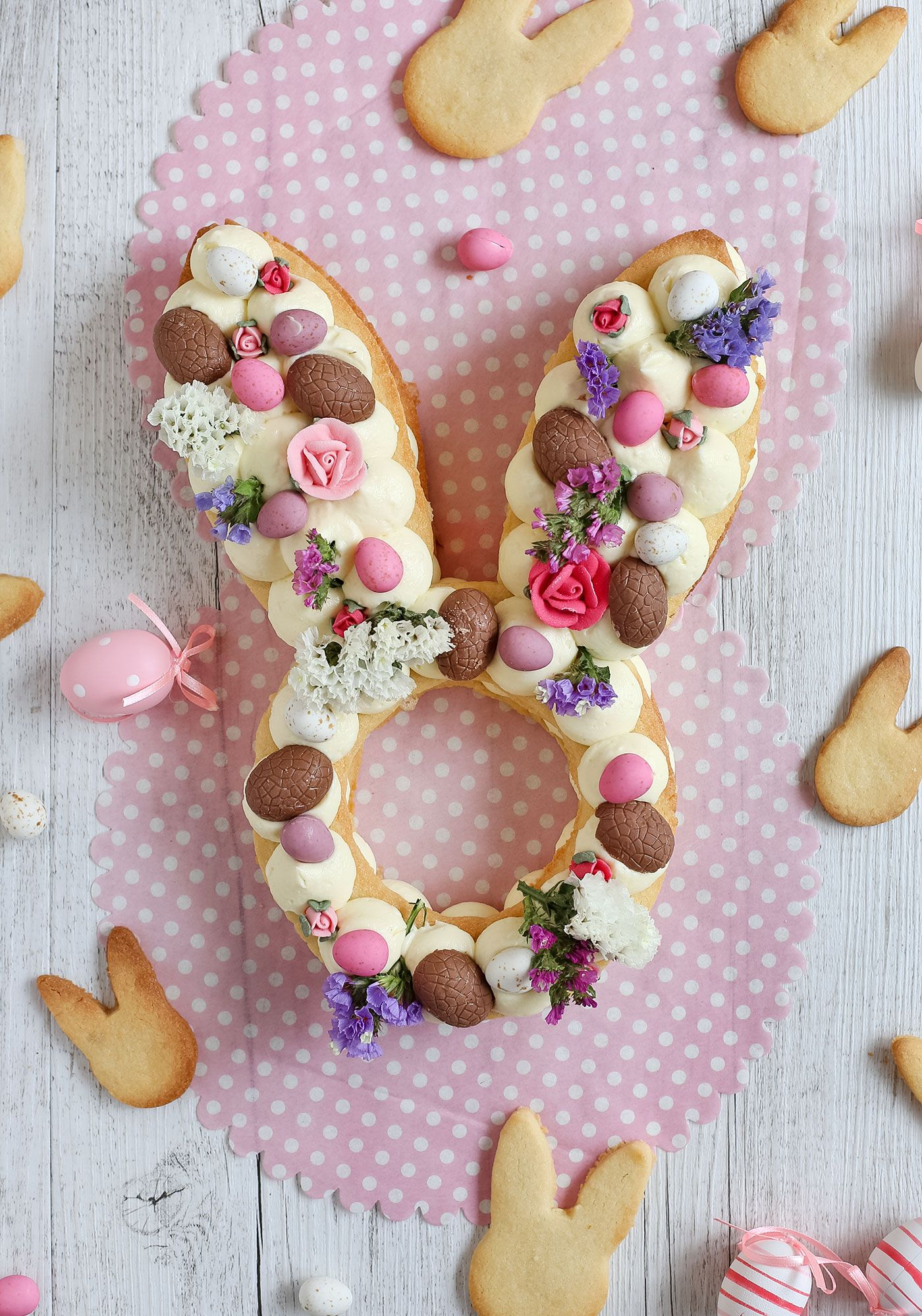 Photo of Easter Bunny Cream Tart – Love Swah