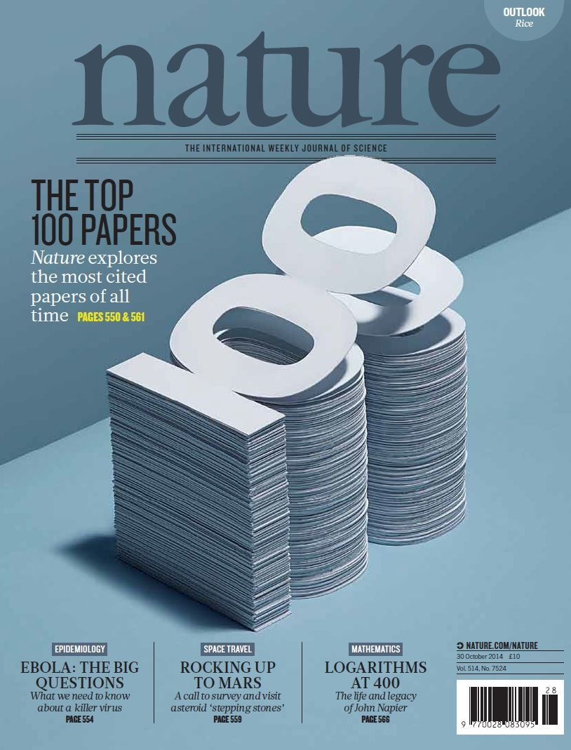Nature Volume 514 Number 7524 Fifty Years Ago Eugene Garfield Published The Science Citation Index Which Revoluti Science Science Journal Tabloid Magazines