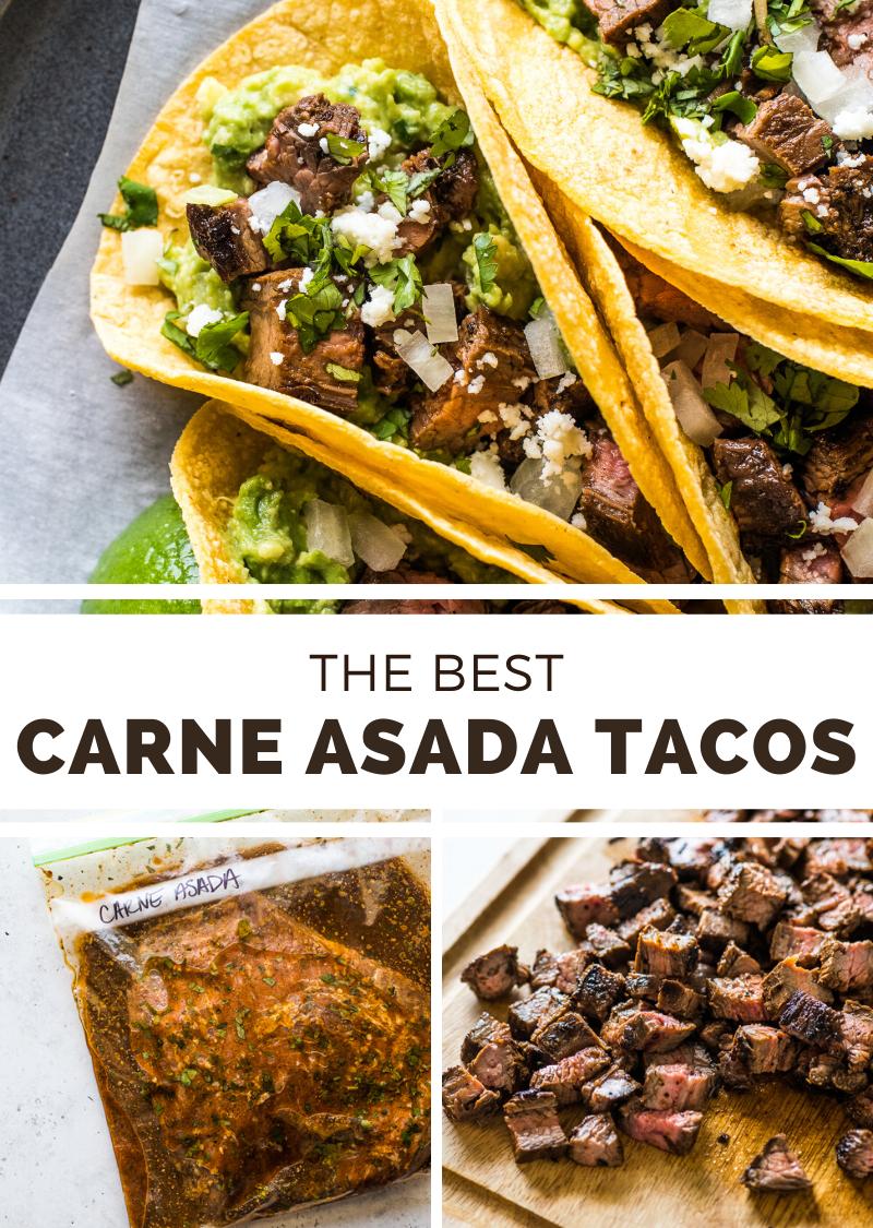 Easy Carne Asada Tacos