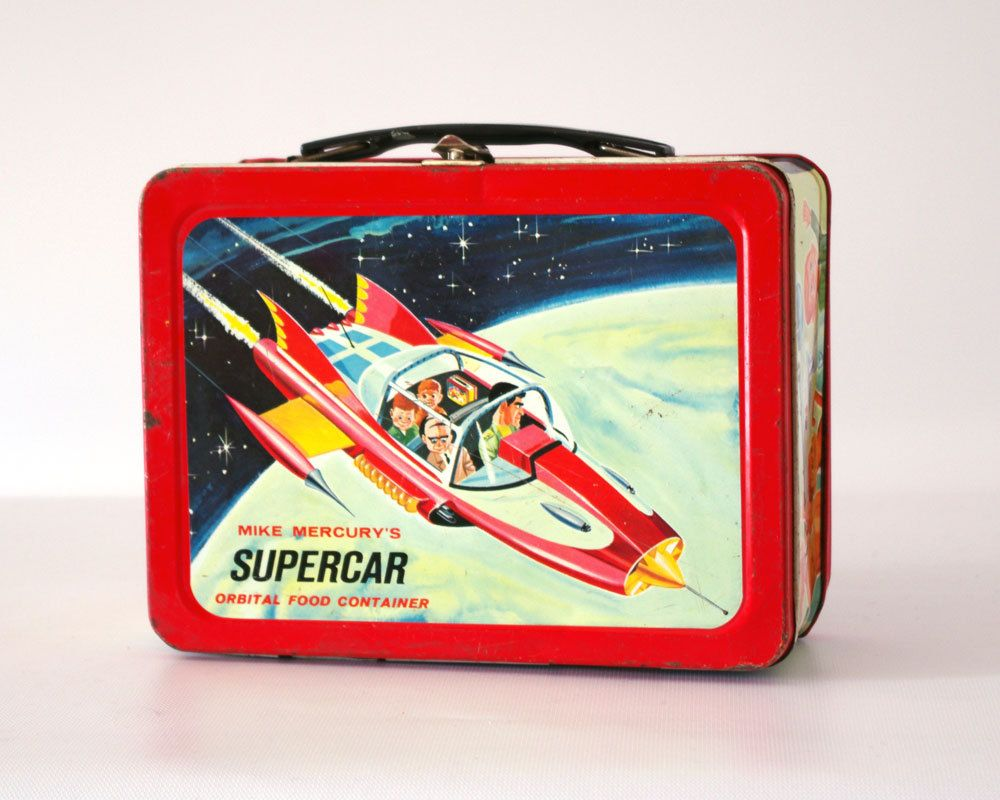 Supercar Lunch Box Gerry Anderson Tv Show Tvs And Tv Series