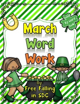 ~Super cute  St. Patricks Day and Spring themed color by code pages that can be used in the classroom during independent time, small groups, review, or even homework. WHATS INCLUDED???~2 sight word practice pages (St. Patricks Day & March Madness)~1 practice page for control r words~1 practice page for short vowel practice (word families)~1 practice page for long vowel practice~1 practice page for digraphs~1 practice page for consonant blends~Please follow me on TPT to find more activities…