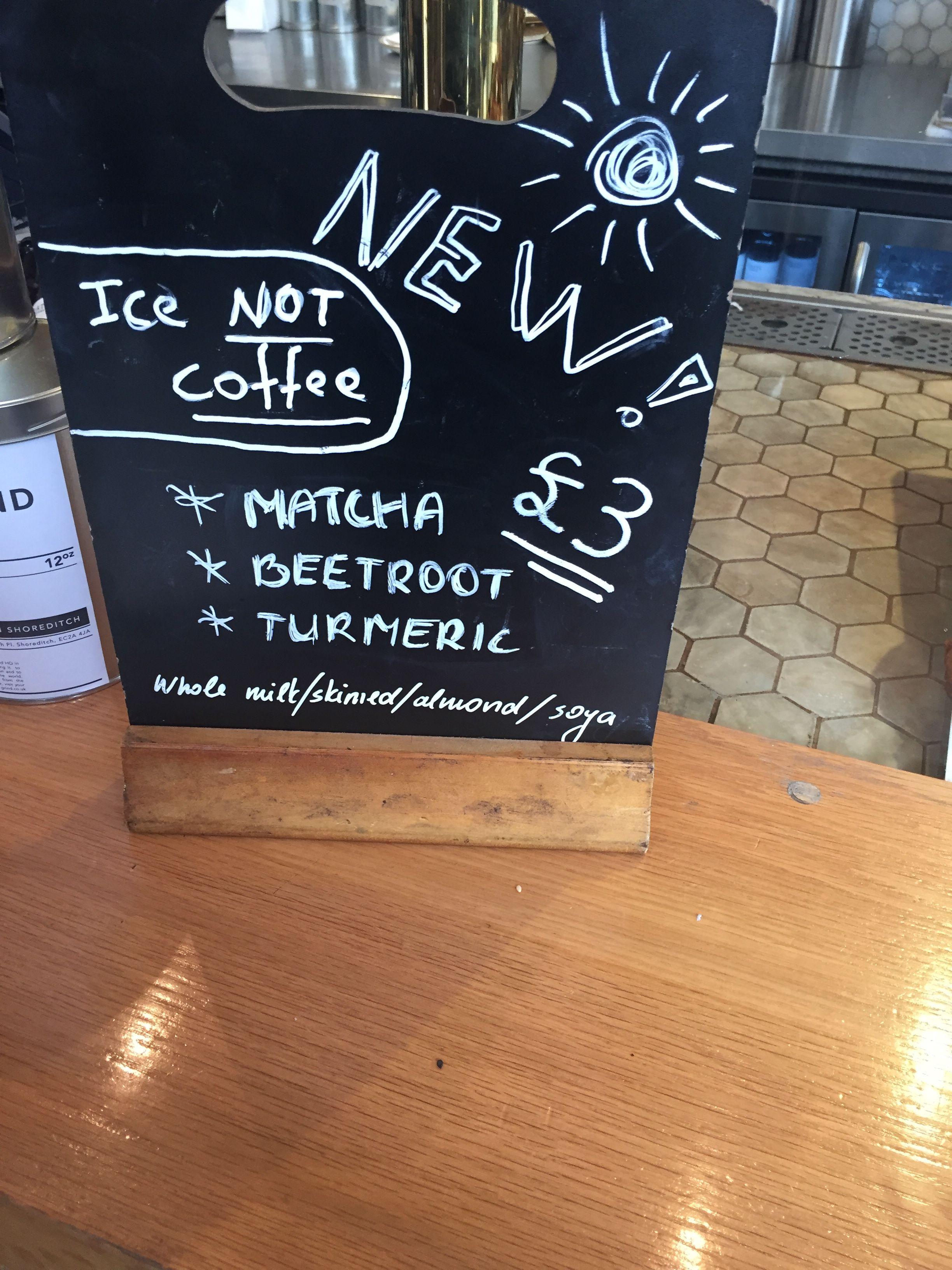 Beetroot latte?!??
