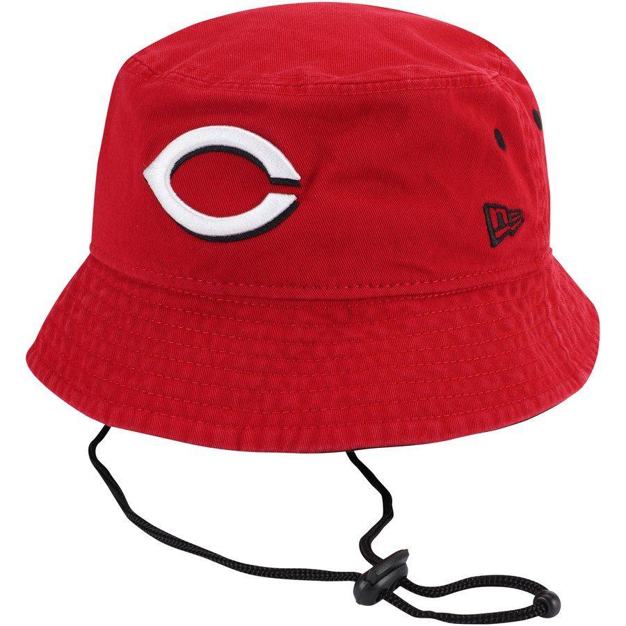 buy popular 4b97d c4f9e Men s Cincinnati Reds New Era Red Shoreline Bucket Hat,  27.99