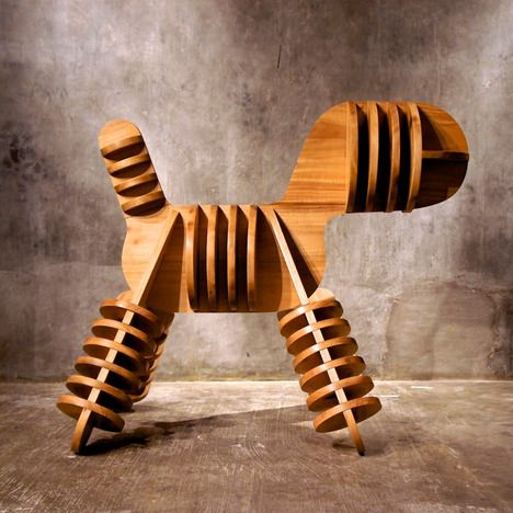STRAY PUPPY CHAIR BY JAGNUS DESIGN STUDIO