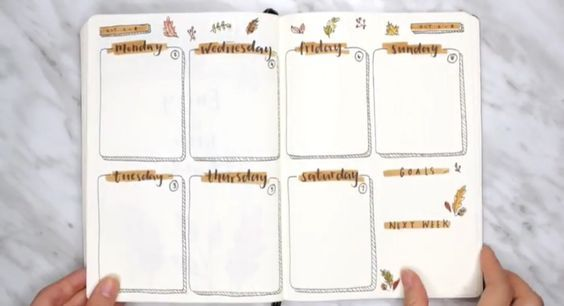 18 September and Fall Bullet Journal Ideas - #septemberbulletjournalcover