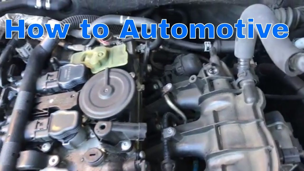 how to replace the pcv valve on a audi and volkswagen with
