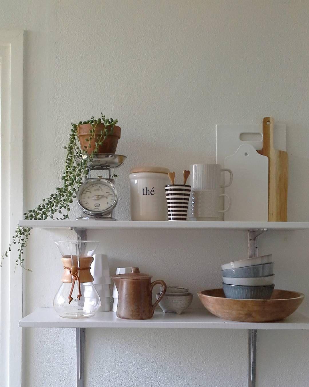 Fijn dag IG! #interior4all #interiør #kitchenstorage #cupsandmugs #ssevjen #scandinavianhome #scandichome #myhometoinspire #homedecor #kitchendetails #vintageindustrialhome #mykitchen #instahome #instakitchen