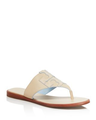 bbd0d87d6faedf TORY BURCH Jamie Logo Thong Sandals.  toryburch  shoes  sandals