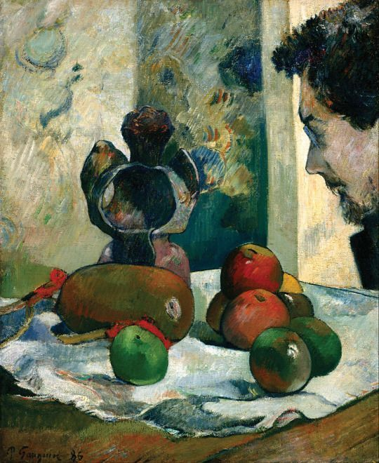 Paul Gauguin Nature Morte Au Profil De Laval Still Life With