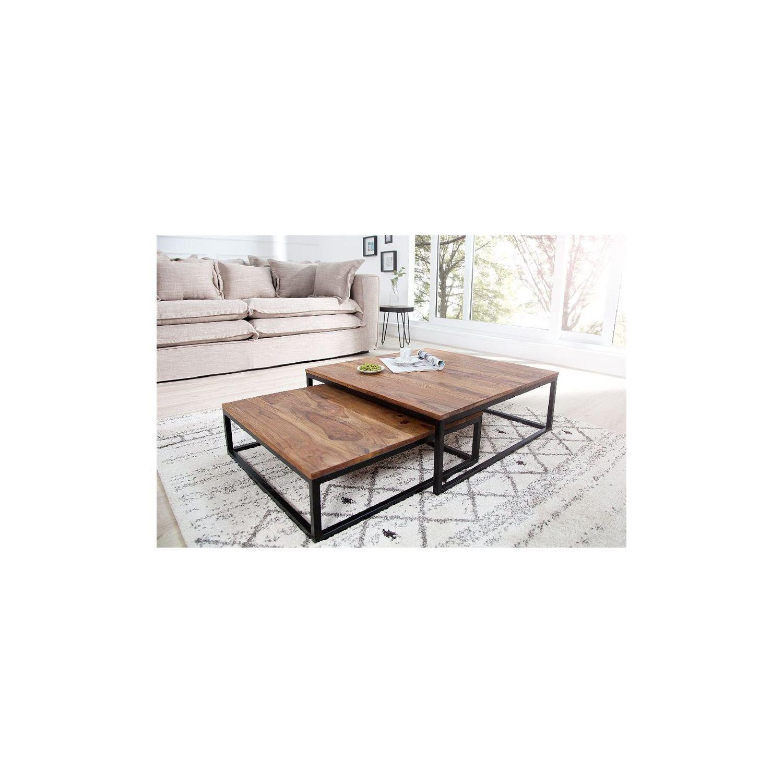 chloe decoration table basse design fusio ii bois fonc pas cher achat vente tables. Black Bedroom Furniture Sets. Home Design Ideas