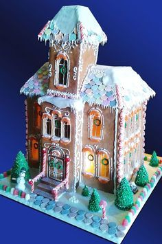 Image result for martha stewart gingerbread nativity
