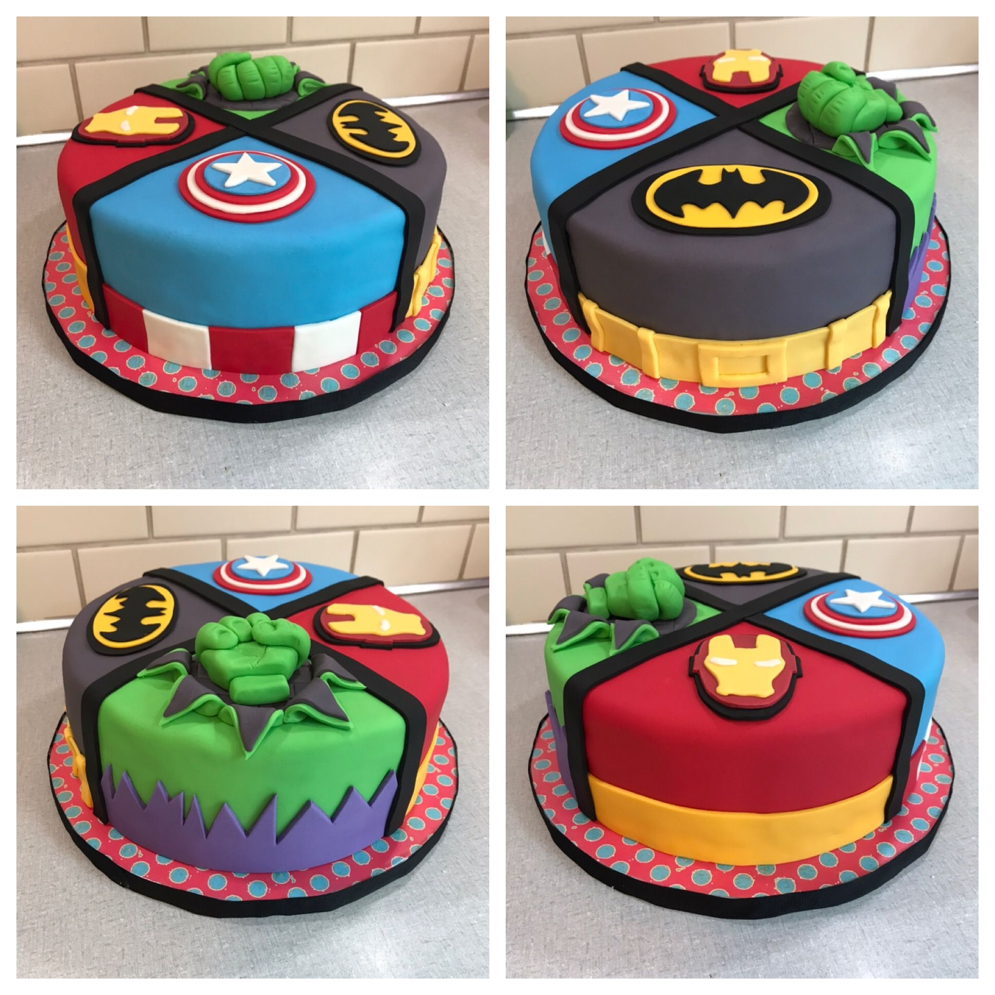 Superhero Cake Batman Cake Hulk Cake Captain America Cake Iron Man Cake Superhero Birthday Cake Superhero Cake Marvel Birthday Cake