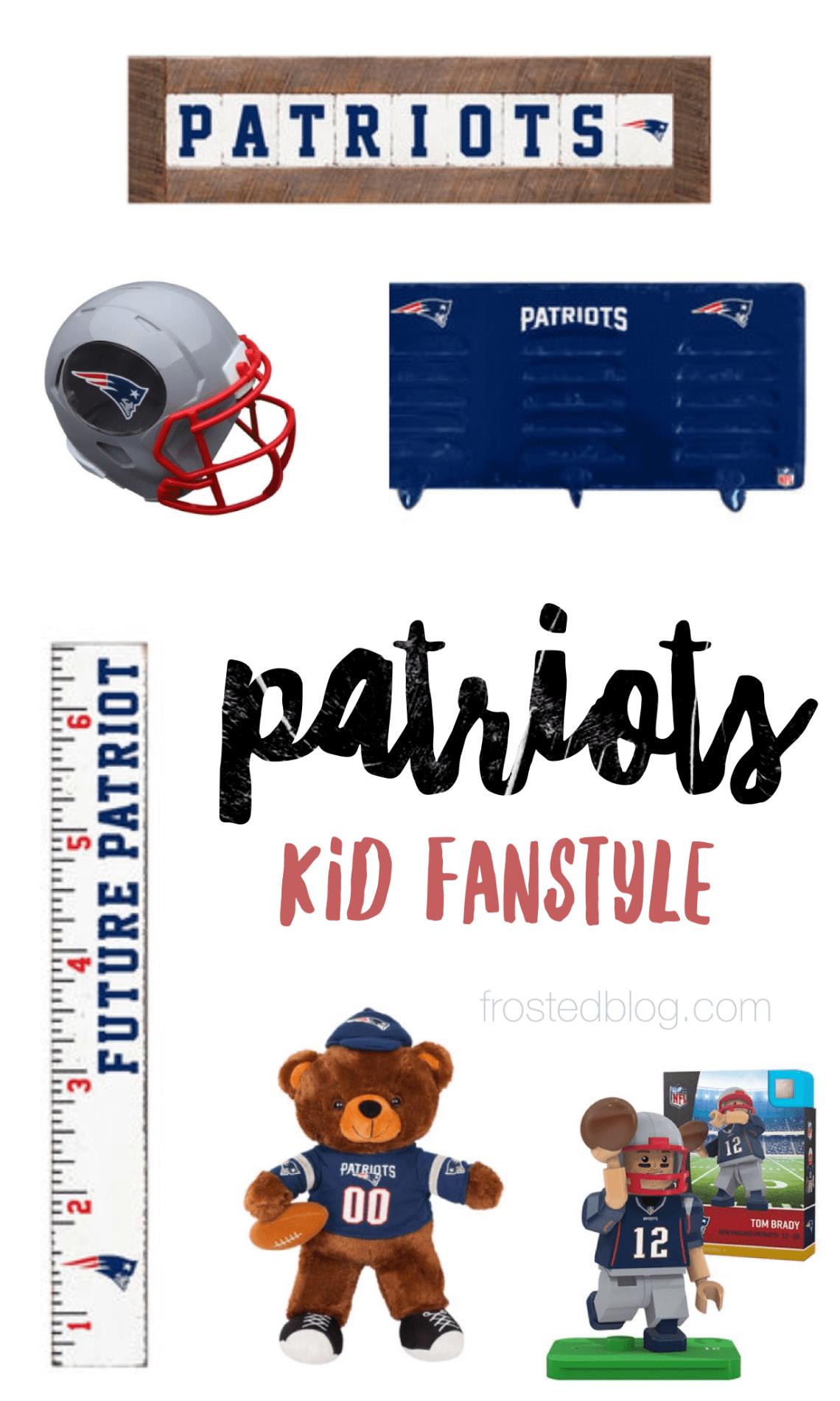 2ac8e1d1 Patriots Fan Gear for Kids – Room Decor & More | Patriots | Patriots ...