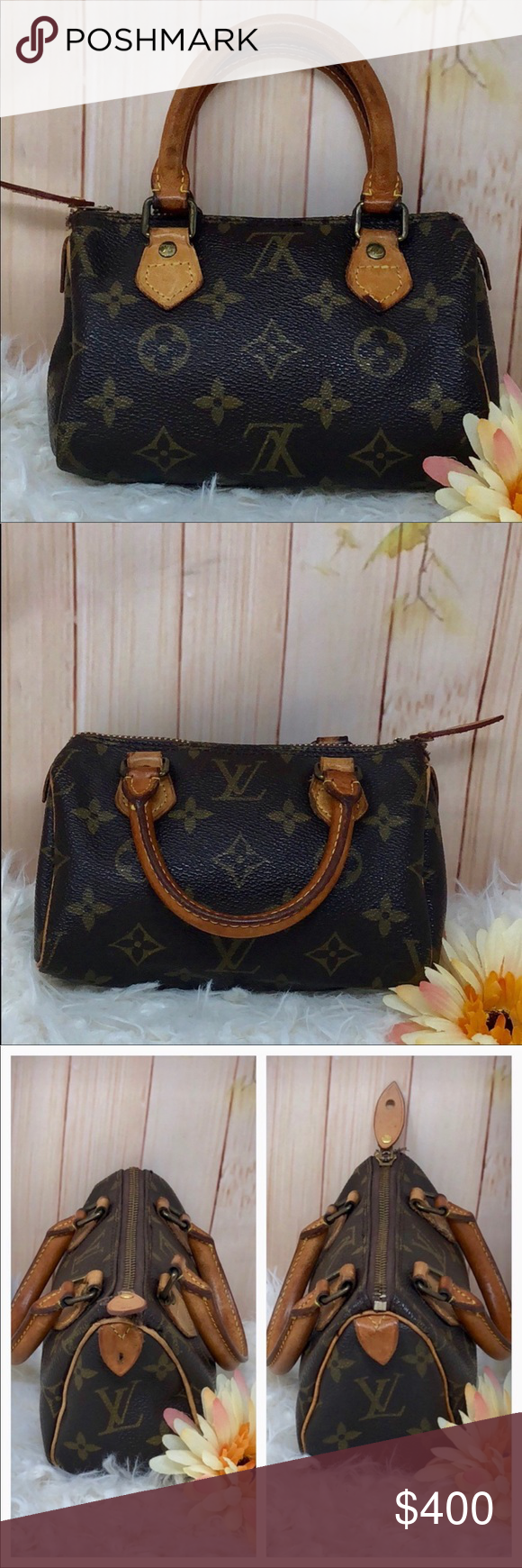 100 Authentic Mini Louis Vuitton Made In France Has No Date >> 100 Authentic Mini Louis Vuitton Made In France Has No