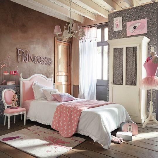 Habitaciones juveniles princesas 3 princesas pinterest for Habitacion nina juvenil