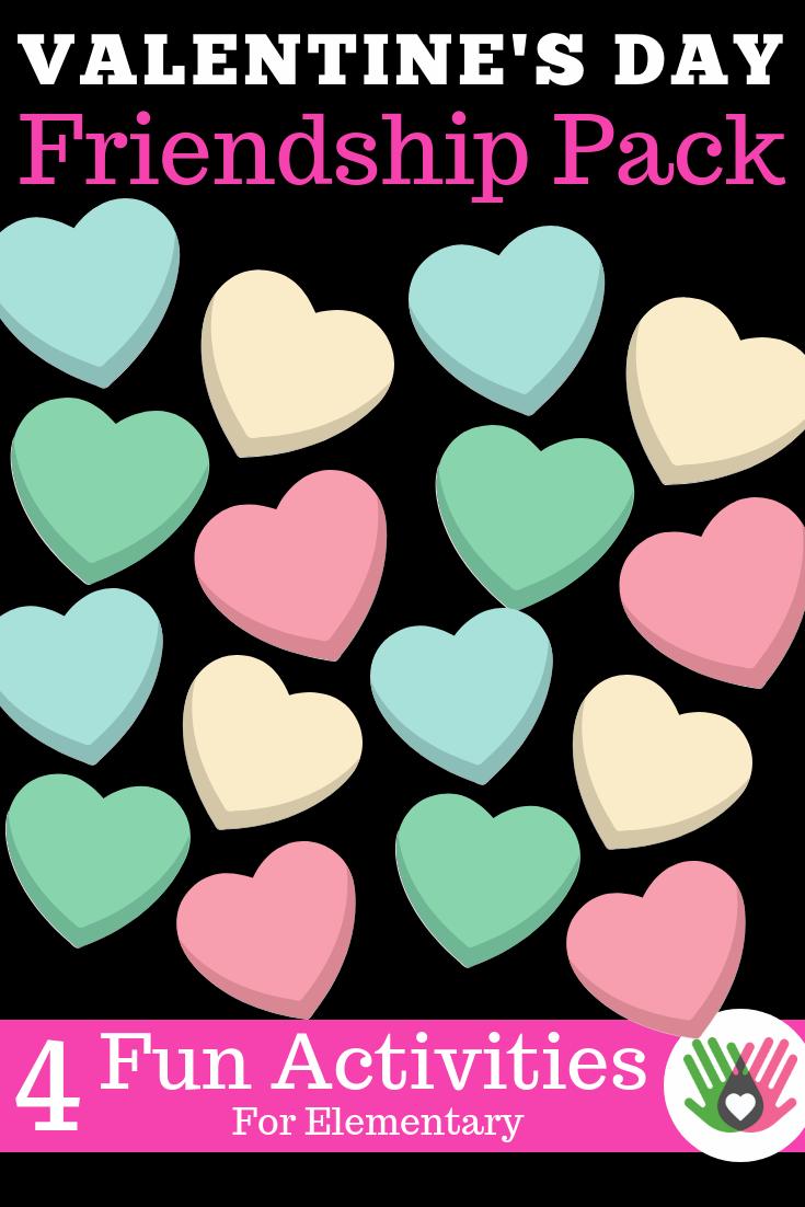 VALENTINE'S DAY Social Skills Friendship Activity Pack