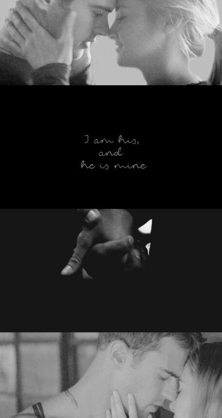 Tobias and Tris #Fourtris #divergent #insurgent tumblr