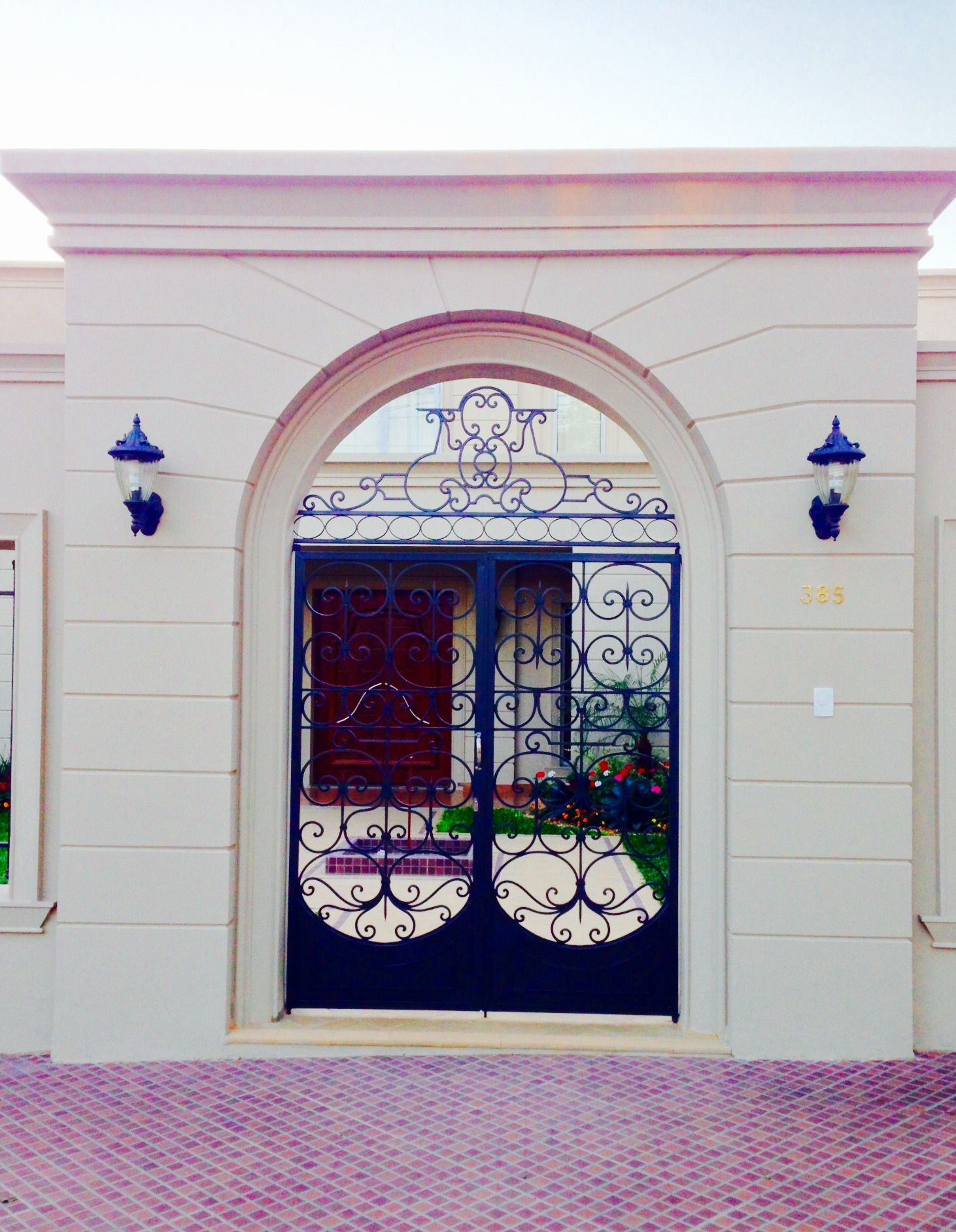 Elegante Portal .Asunción  Paraguay
