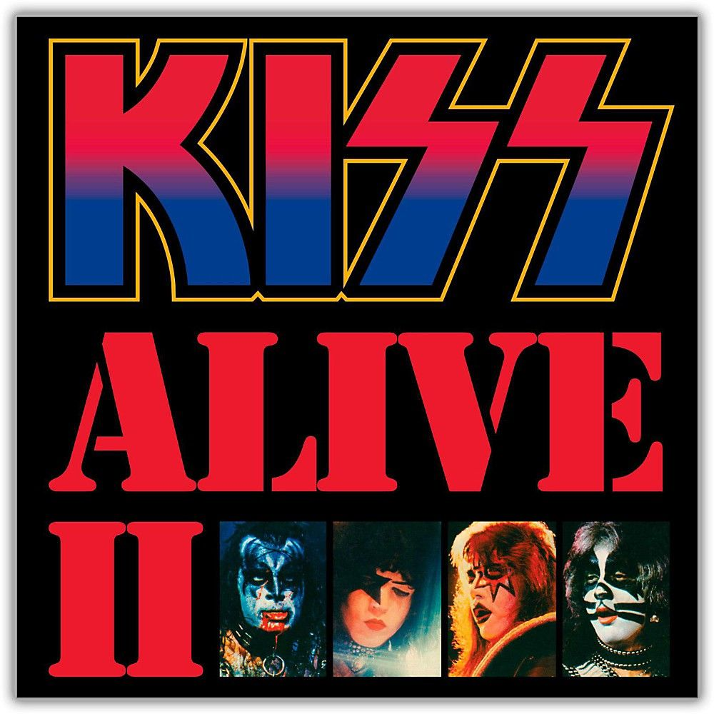 Universal Music Group Kiss Alive Ii Vinyl Lp Kiss Album Covers