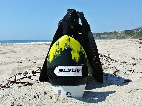 Slyde Handboards: The Hawaiian Bula Handboard With Go Pro Attachment