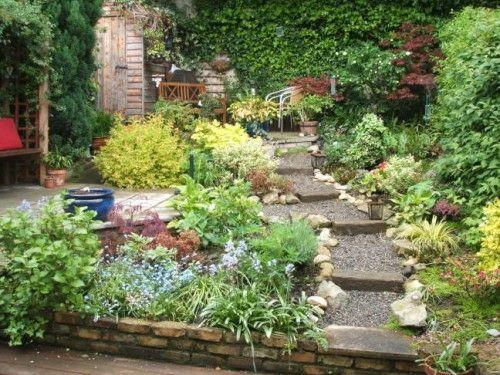 40 coole Ideen für kleine urbane Garten Designs Garden ideas and