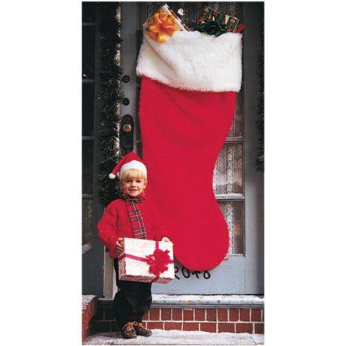 5 ft jumbo red felt giant christmas stocking rubies costume co httpwwwamazoncomdpb000jtlqzkrefcm_sw_r_pi_dp_hsffub0hpx1r2 - Giant Christmas Stocking