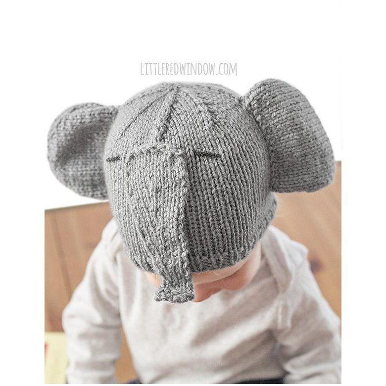 Tiny Elephant Hat Knitting pattern by Cassandra May in ...