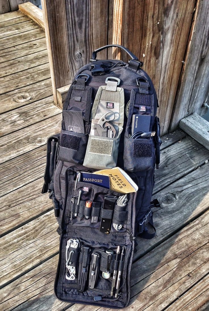 Pack Config: | survival | Tactical survival, Edc bag, Tactical gear