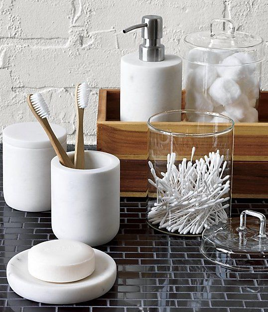 Bathroom Canister Pincher Glass Canister With Lid  Glass Canisters Apothecaries And