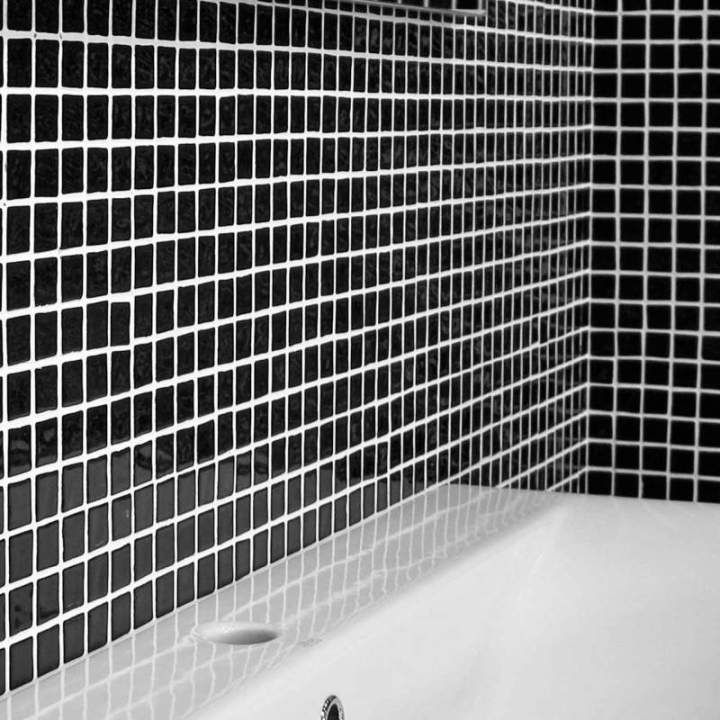 Mosaic Wall Tiles Are At Their Most Dramatic With These Glossy Black Ideal As Kitchen Or For Stylish Bathroom Designs