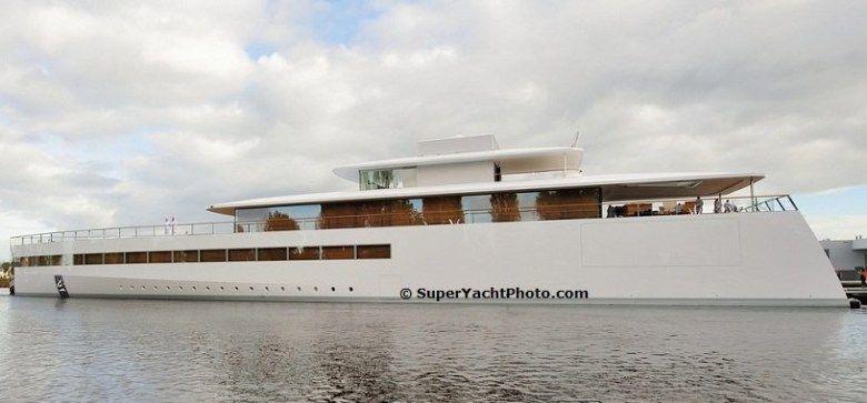 Steve Jobs 250 Million Superyacht Venus Finally Sets Sail I D