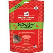 Stella & Chewy's Duck Duck Goose Freeze-Dried Dinner Patties