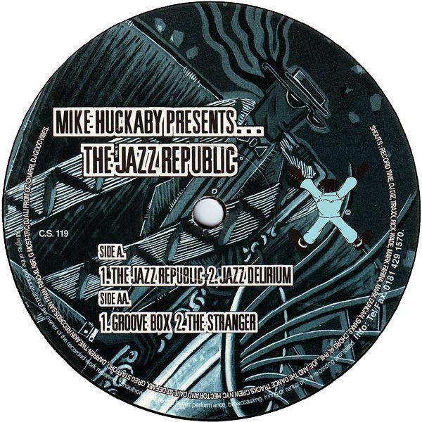 "Mike Huckaby - The Jazz Republic 12"""