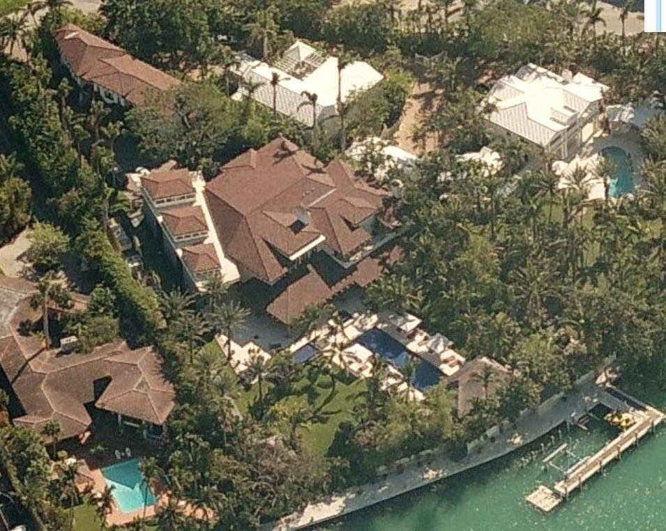 Sean Combs P Diddy S House Miami Beach Florida And New Jersey