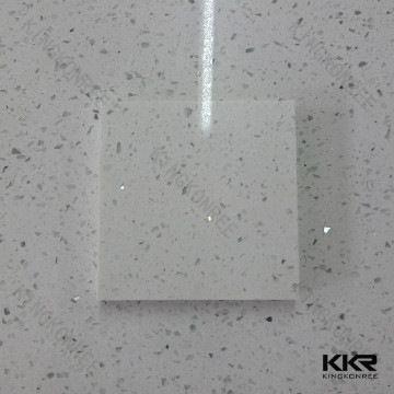 2cm White Sparkle Synthetic Quartz Bathroom Wall Tiles Quartz Countertops Colors Quartz Countertops Quartz Tiles