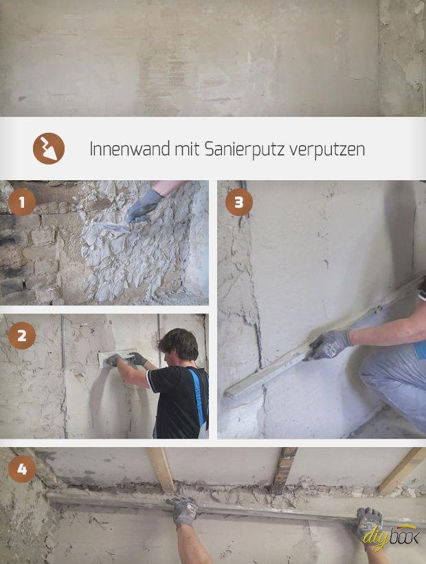 Wand Verputzen Wand Spachteln Anleitung Diybook At Wand Verputzen Wande Spachteln Verputzen