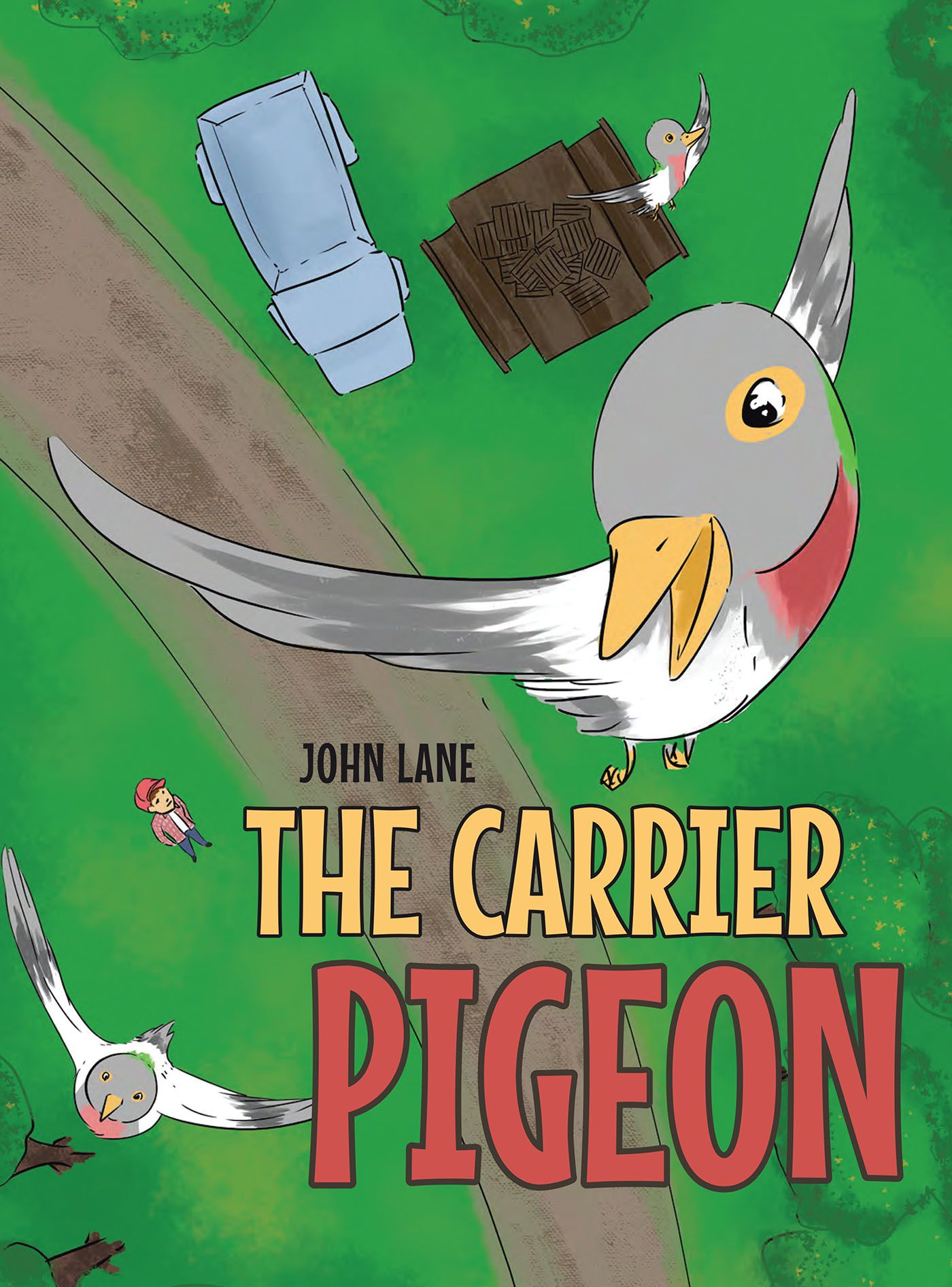 """Books   Page Publishing John Lane's new book """"The Carrier Pigeon"""" is a compelling story on a homing pigeon's positive impact in the lives of barnyard animals and a redheaded boy."""