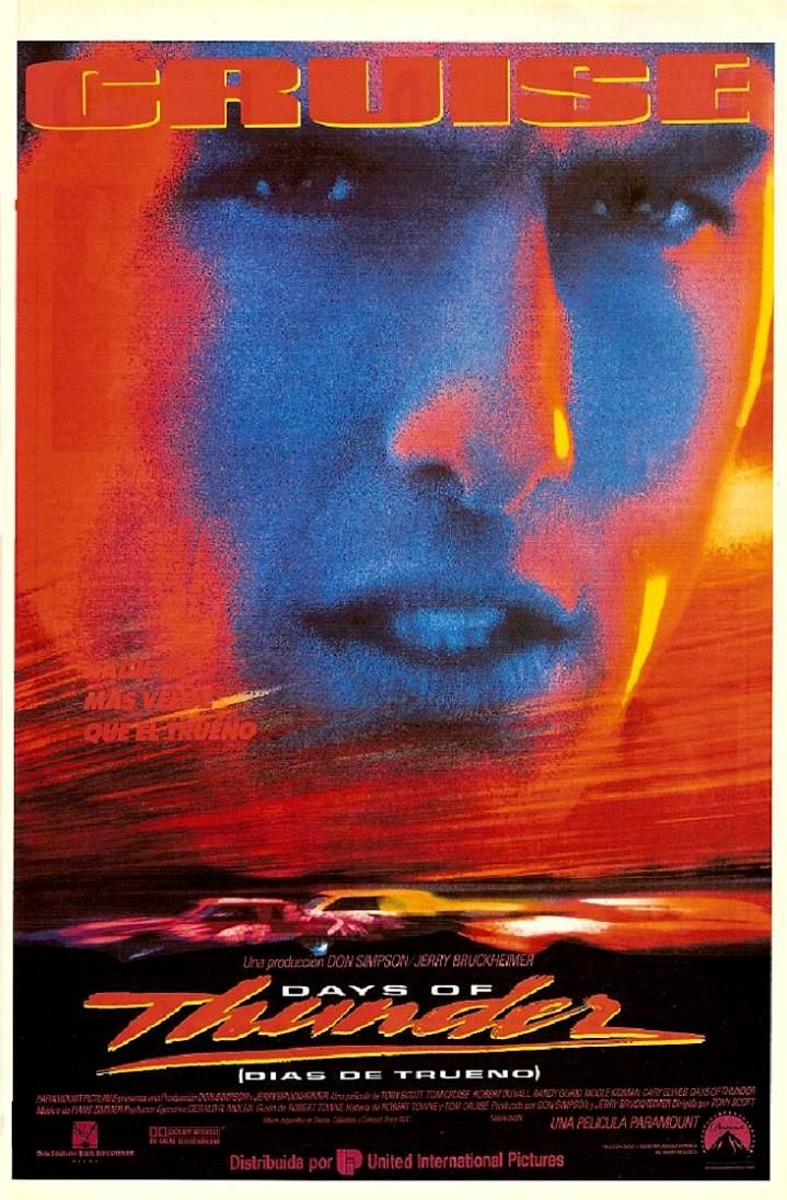 Days Of Thunder 1990 When Tom Cruise Wasn T Such A Weirdo Trovao