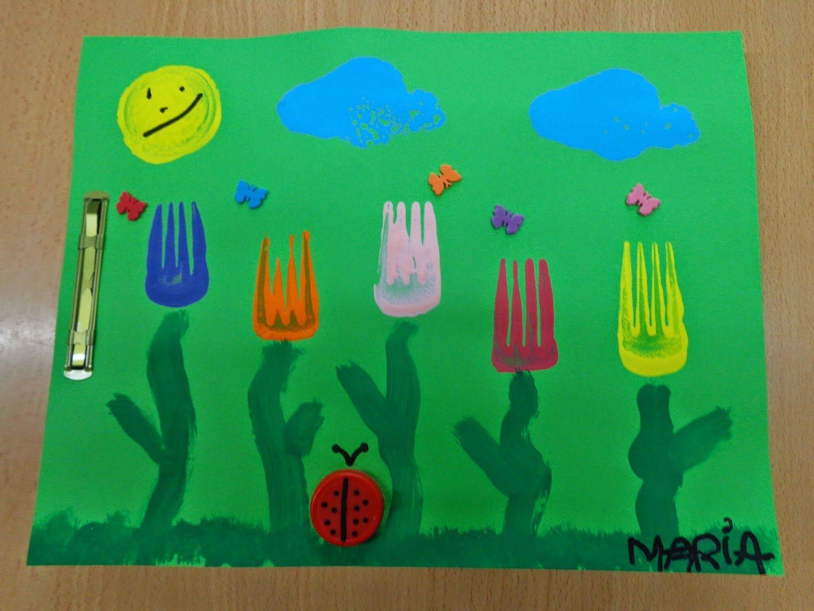kleurplaten thema lente